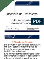 Puntos Clave de Un Sistema de Transporte