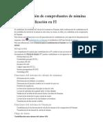 Contabilización contabilización en FI