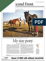 """""""My size pony,"""" headline, photo caption, content edit"""