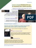 Chowanie kaczora w piasek PDO283 ZR FO von Stefan Kosiewski ZECh CANTO DCLXXVII 20160220 Magazyn Europejski SOWA