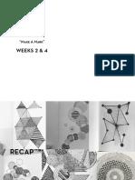 Weeks 2+3 Presentations