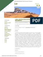 Gestão de Projetos de Mineração - Riscos de Investimentos - Geoconomica