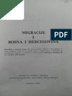 Avdo Sućeska - Uticaj Migracionih Kretanja... & Dušan Berić - Oslobodilački Pokret u Bosni i Hercegovini 1848-1862. i Migracije Stanovništva