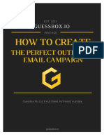 How to Create the Perfect Email Outbound Campaign