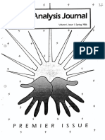Hand Analysis Journal, Vol_1, Issue 1