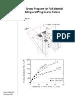 Pile Group Program for Full Material Modelling