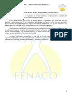 Codigo Deontologico de La Profesion Naturopatica - Alumnos