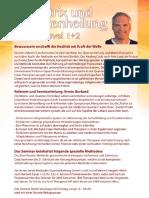 Einladung Matrix Transformation  1+2 Seminarbeschreibung