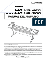 Vs-640 Manual de Usuario