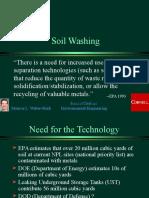 Soil Washing