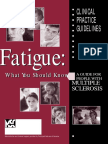 MS-Fatigue What You Should Know 2000