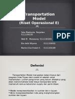 1 Transportation Model Klp06