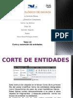 Presentación de Dibujo (Corte y Extension de Entidades)