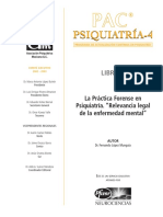 PAC Psiquiatria Forense y Legal