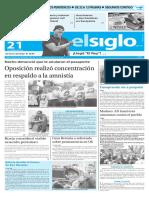 Edición Impresa Elsiglo 21-02-2016
