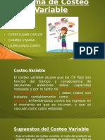 Presentación_costos Variables Directos