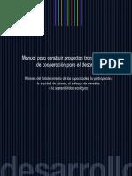 Manual Para Construir Proyectos Transformadores de Cooperacion