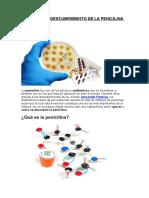 Fleming y El Descubrimiento de La Penicilina
