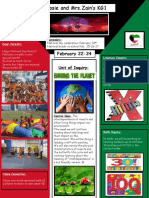 Weekly Newsletter Feb 21-24 2016