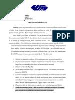 Taller Practico de Gerencia Financiera I GAO GAF y UPA 7MO SEMESTRE