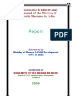 Solodarity Domestic Voilance in India