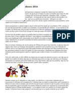 Regalos Revistas Febrero 2016