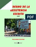 Cuaderno de La Resistencia Escrita (2009)