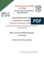 Instituciones Oficiales Del SFI