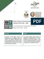 Primo Concorso Internazionale Ex-Libris