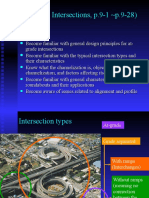 Ch9-1 Types of Intersections