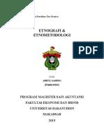 ethografi Dan Etnometodologi