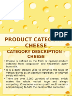 Category Study of Cheese