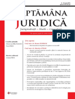 Saptamana Juridica nr. 23 din 2015