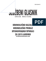 Kronološko kazalo / Hronološki prikaz za 2013. godinu hrvatski/bosanski/srpski jezik