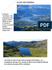Lacuri din Romania p2