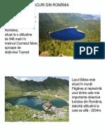 Lacuri din Romania p1