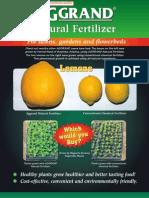 Natural Fertilizer 1