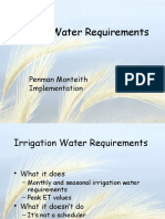 Irrigation Water Requirements Part 1