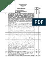 BS Sample Paper