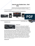 Akai - A Guide on How to Use Studio One (College)