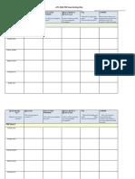 pdp goal-setting blank template