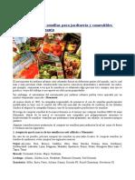 Lista de Marcas de Semillas Para Jardinería y Comestibles Propiedad deMonsanto