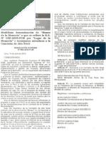 """R.S. No. 098-2010-PCM. Modifican denominación de """"Museo de la Memoria"""" a que se refiere la R.S. No. 059-2009-PCM por """"Lugar de la Memoria"""" e incorporan miembros a la Comisión de Alto Nivel"""