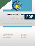 Mesin Diesel 2 langkah