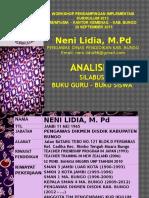 Analisis Standar isi Kurikulum 2013