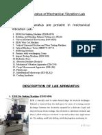 Description of Lab Apparatus