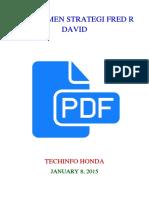 Manajemen Strategi Fred r David