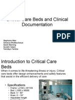Critical Care Beds Clinical Documentation