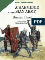 The Achaemenid Persian Army - Duncan Head