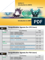 DM-Intro 16.0 L01 Introduction to ANSYS